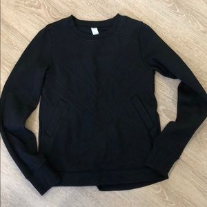 Girls ivivva sweatshirt size 14 black